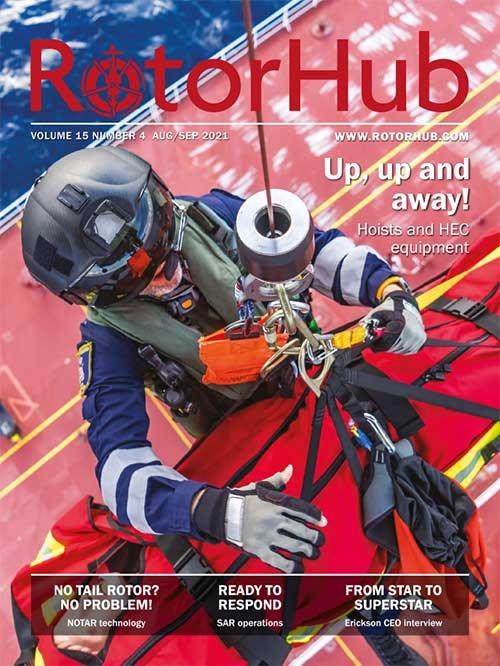 Rotor Hub Magazine cover